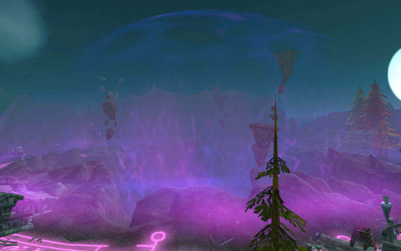 wow how to get to draenor from dalaran