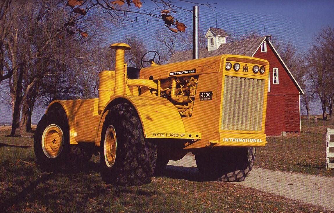 International 4300 Tractor : International tractor construction plant wiki