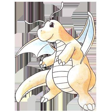 Archivo:Dragonite en la primera generación.png