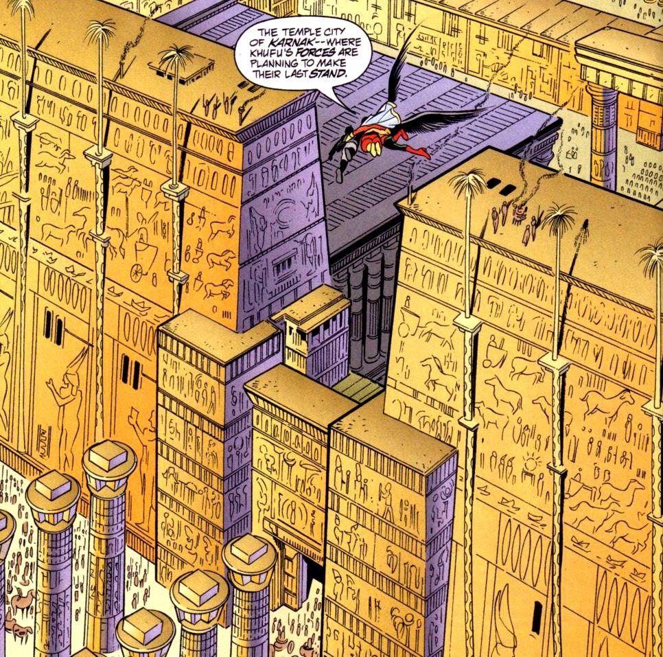The Pylons Marvel World