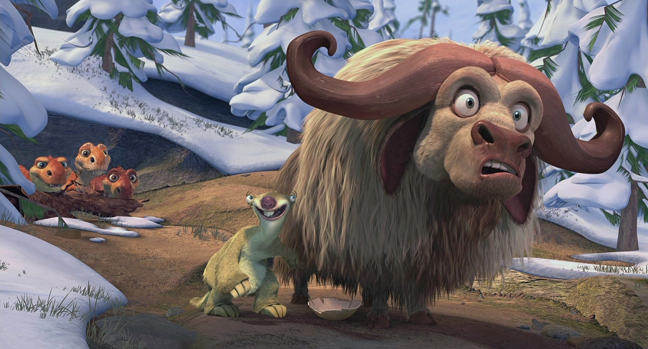 Platybelodon Ice Age Musk ox - ice age wiki - the