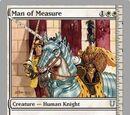 Man of Measure