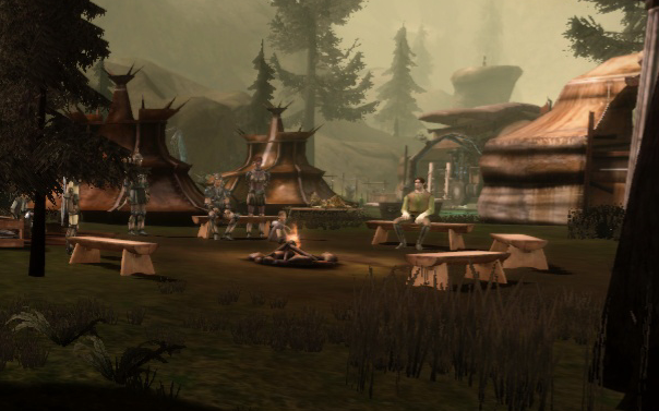 Location dalish camp campfire