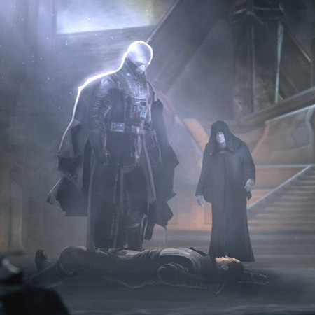 The sith warrior from his vision galen marek dies as a redeemed jedi