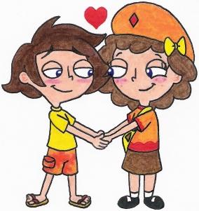 Image - Django and Milly in Love by nintendomaximus.jpg ...