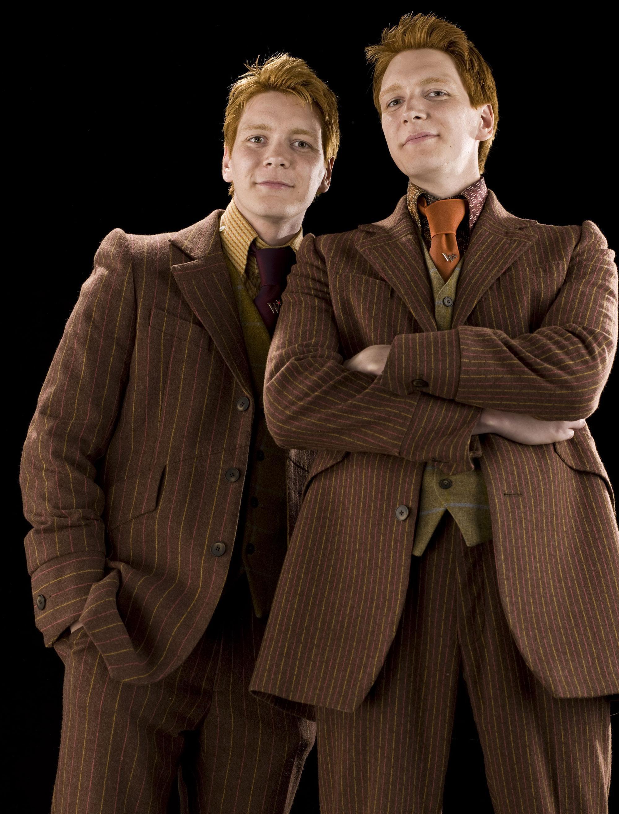 Fred Et George Weasley Wiki Harry Potter Wikia