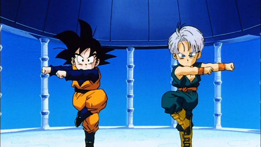 Image - GotenTrunksFusionDance.png - Dragon Ball Wiki