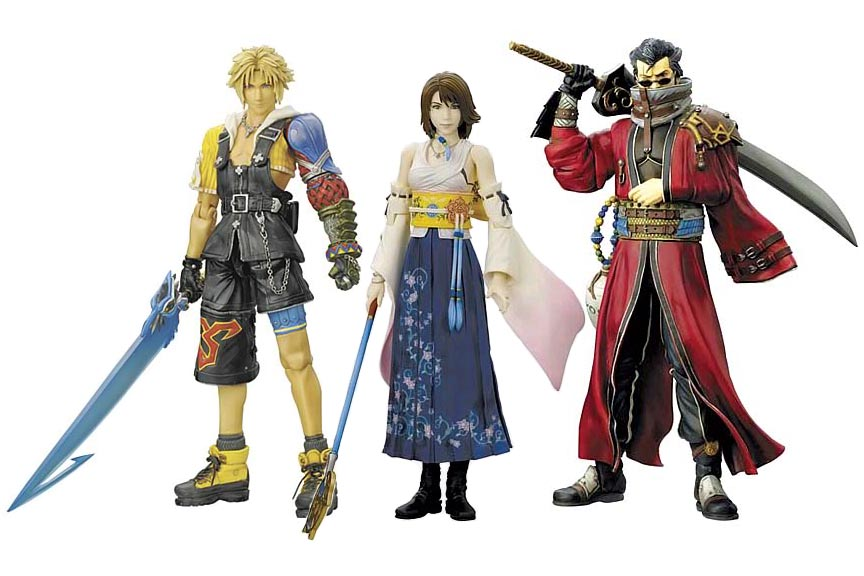 Final Fantasy Play Arts Action Figures - The Final Fantasy ...