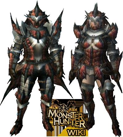 S Rathalos MH3-Rathalos Armor