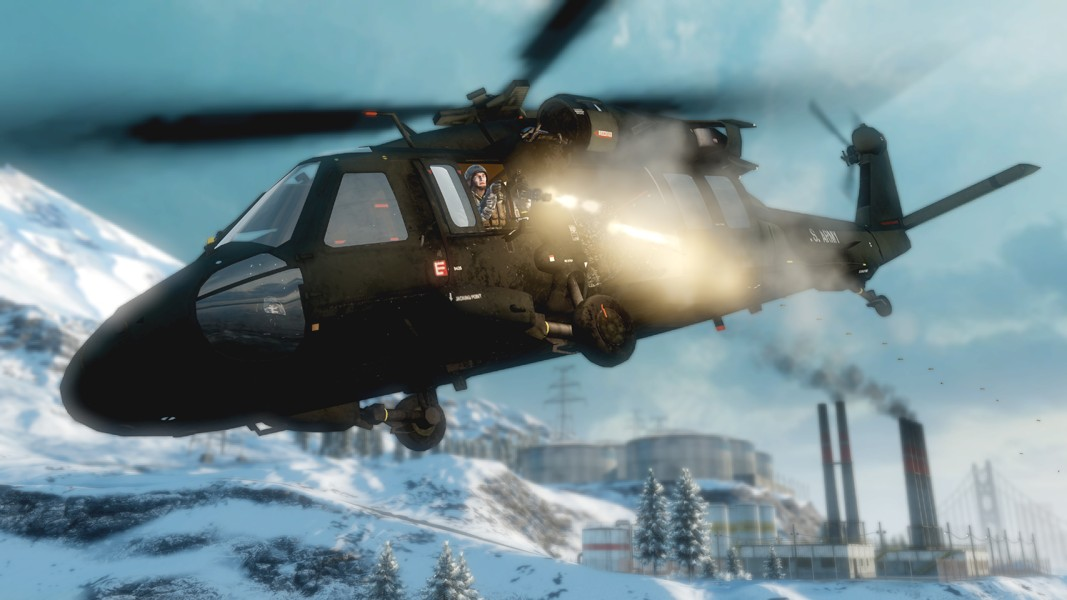 Battlefield 4 Elicottero : Uh black hawk battlefield wiki