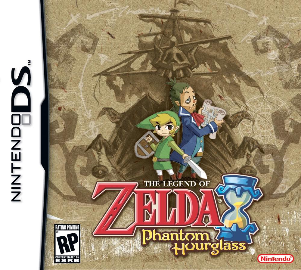 Zelda Phantom Hourglass Espanol