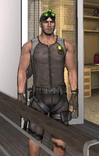 Image - Sam Fisher tropical outfit.jpg - The Splinter Cell ...