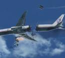 Mid-air break-up