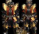 Golden Shin Armor
