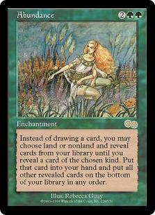 Abundance The Magic The Gathering Wiki Magic The