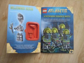 lego atlantis crab instructions