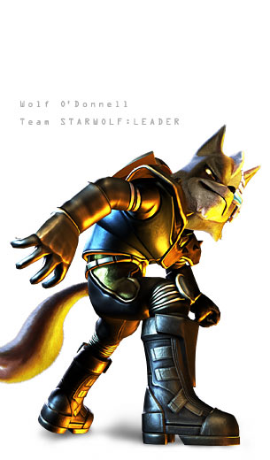 Wolf Odonnell W... Fox Mccloud And Wolf Odonnell