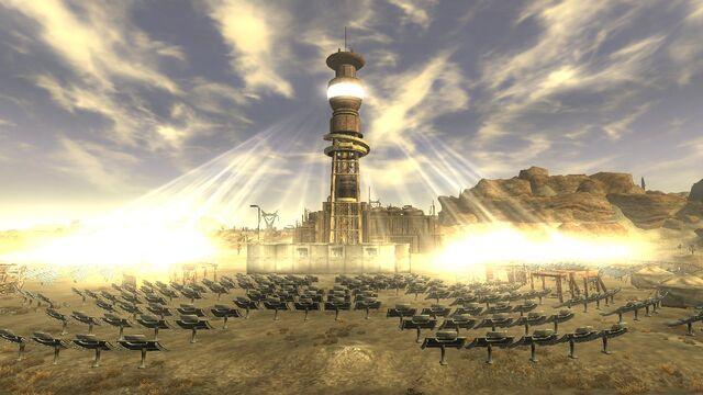 """Гелиос-1, солнечная станция в игре """"Fallout NV"""""""