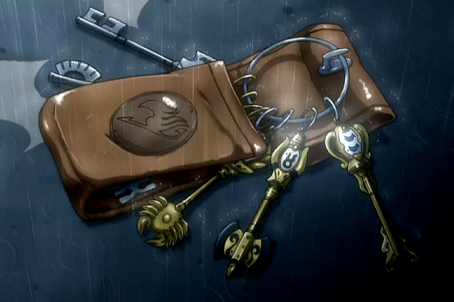 Lucy Fairy Tail Keys Full resolution