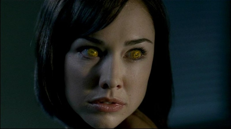 Tessa supernatural scary just got sexy - Scary yellow eyes ...