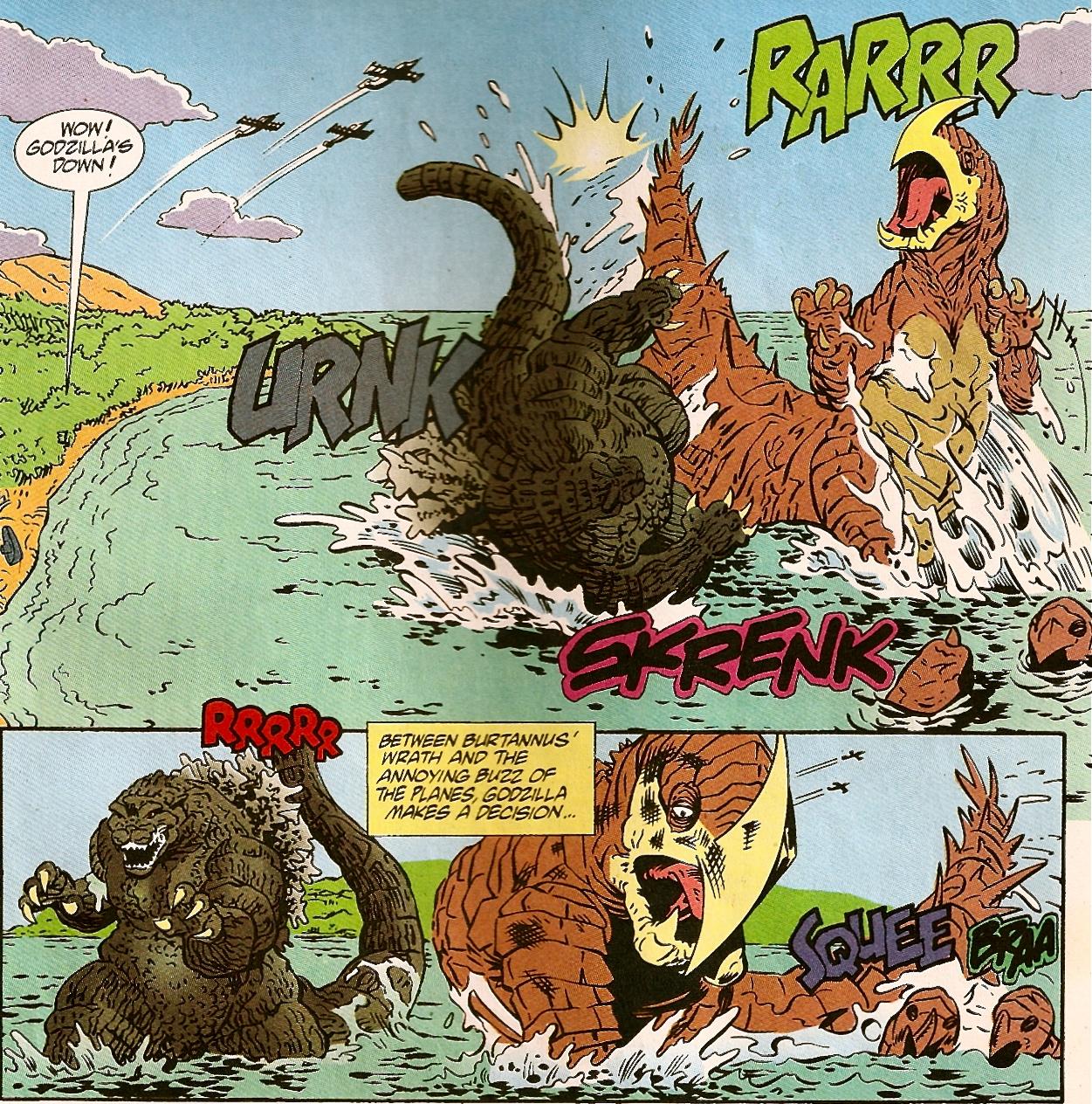 Image - Burtannus Vs Godzilla.jpg