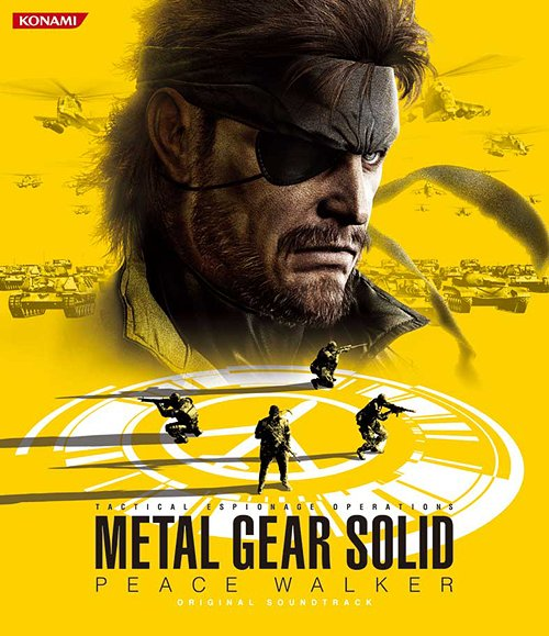 Metal Gear Solid Peace Walker Original Soundtrack Metal