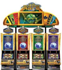 Amazing race slots machines