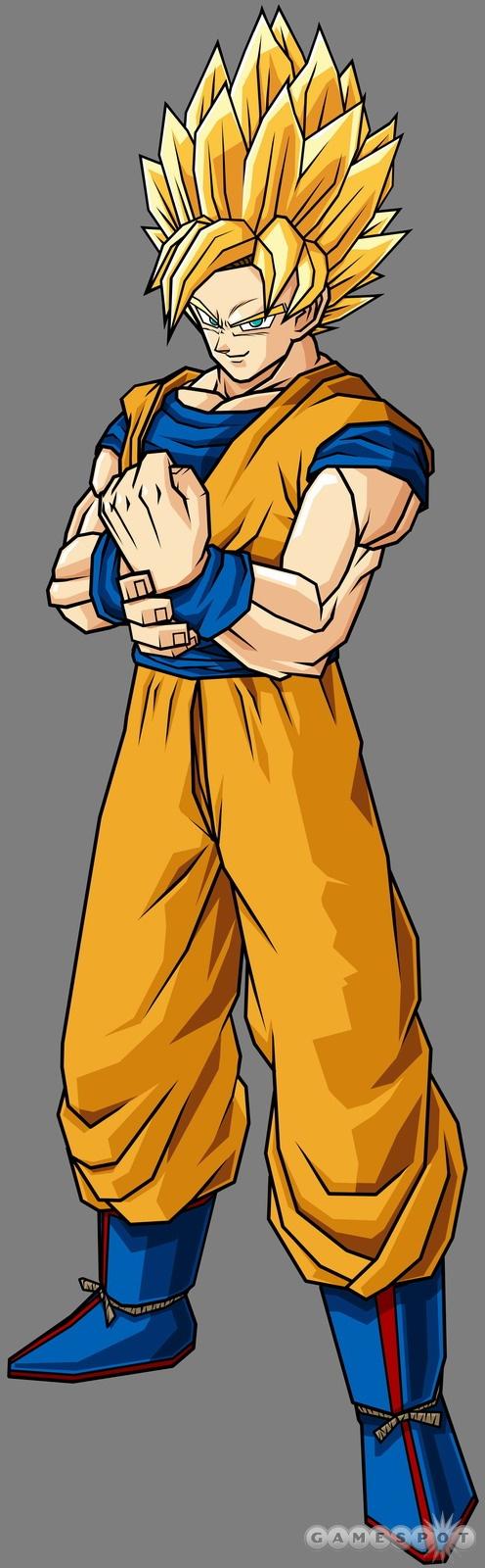 Super Saiyan Goku - Dragon Ball Z Budokai Tenkaichi 2 Wiki