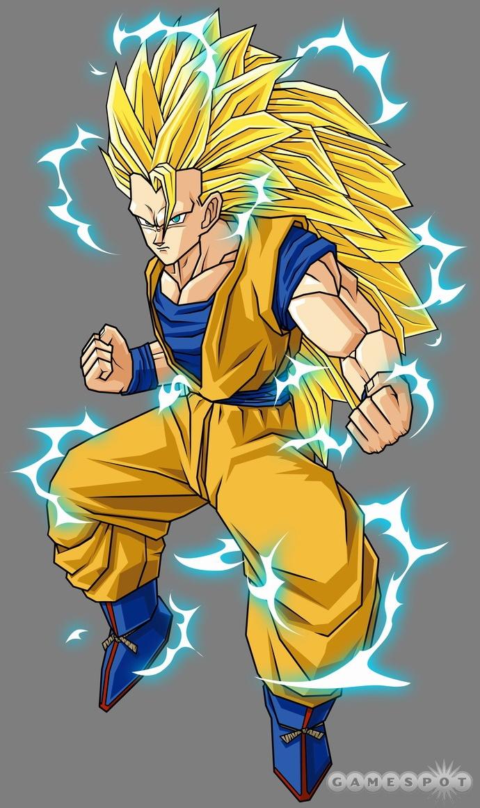 Super Saiyan 3 Goku - Dragon Ball Z Budokai Tenkaichi 2 Wiki