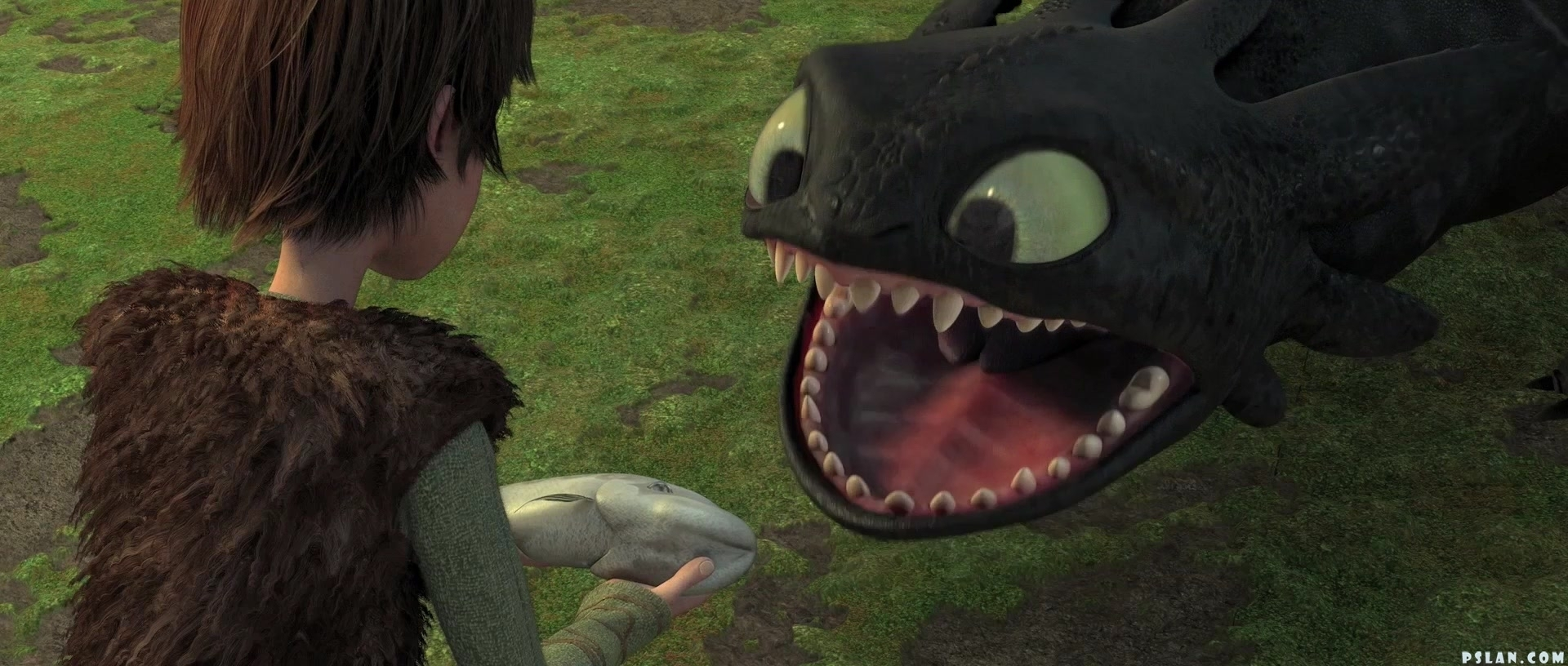 How To Train Your Dragon Toothless Smile Gif