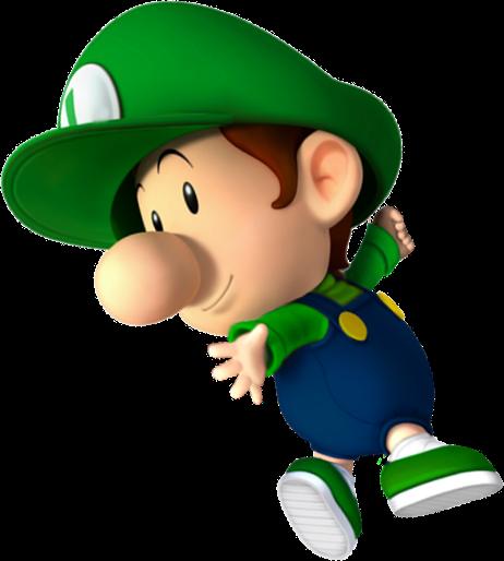 Image baby luigi fantendo the video game - Bebe mario et bebe luigi ...