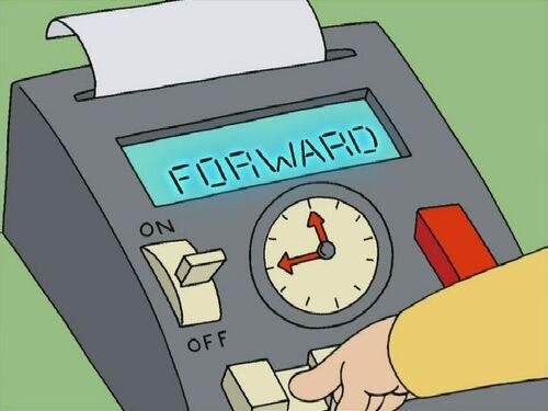stewie griffin time machine