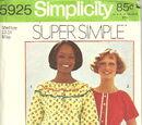 Simplicity 5925 A