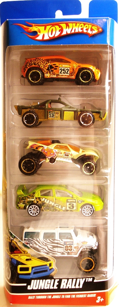 Red Window Tint >> Jungle Rally 5-Pack - Hot Wheels Wiki