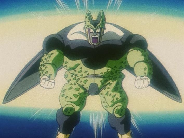 3rd grade super saiyan dragon ball wiki - Super cell dbz ...