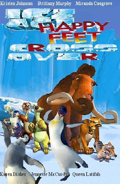 Fan:Happy Feet/Ice Age... Ice Age 5 The Revenge Of Red Horn Momma Dino