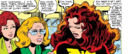 Phoenix Force as Jean Grey, Sara Grey and Elaine Grey (Earth-616) from X-Men Vol 1 136 0001.png