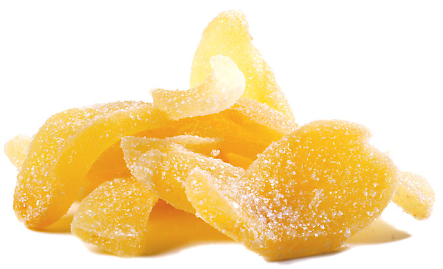 Crystallized ginger - Recipes Wiki