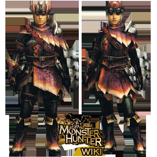 jaggi armor gunner monster hunter wiki wikia