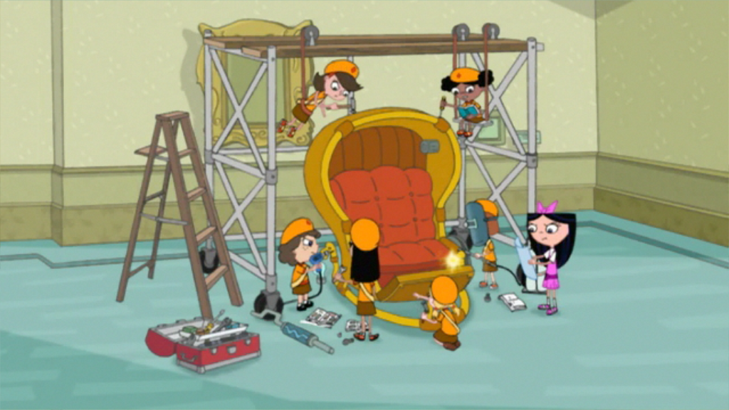 phineas and ferb time machine