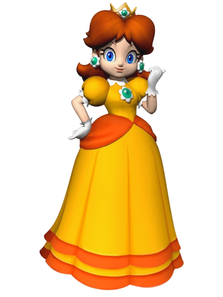 Be Looking For The Sonic Character Daisy Princess