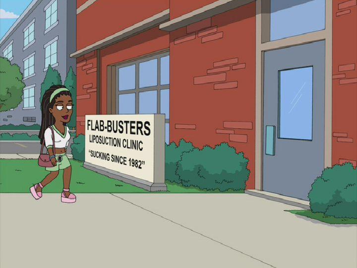 Flab Busters American Dad Wiki Roger Steve Stan