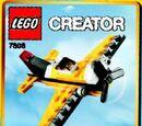 7808 Yellow Airplane