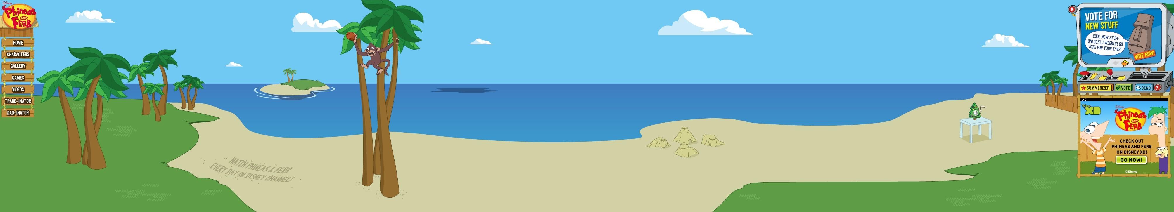 summer vacation summerizer phineas en ferb wiki