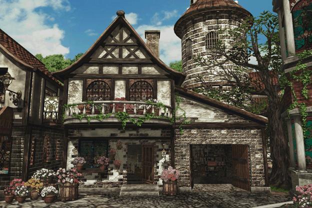 Winhill unused for Final fantasy 8 architecture
