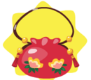 Bright Flowery Handbag