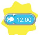 Playfish Clock