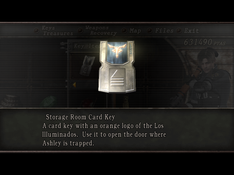 Storage Room Card Key Resident Evil Wiki The Resident