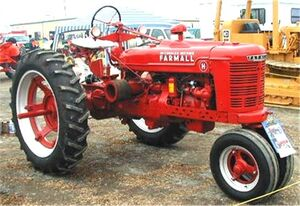 McCormick-Deering Farmall H 1941 Tulare