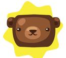 Brown Bear Pot